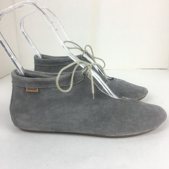 d8ee64d222d84 Sanuk Penelope Booties Women Boots US 8 UK 6 EU 39